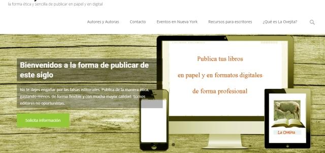 La Ovejita tiene nuevo diseño en la página web, con mejores opciones y secciones